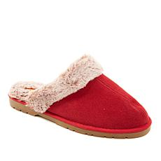 Sporto® Jasmine3 Knit Slipper with Faux Fur Trim