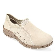 Sporto® Max Water-Repellant Suede Slip-On Shoe