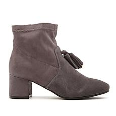 Sporto® Samantha Waterproof Suede Bootie with Tassels