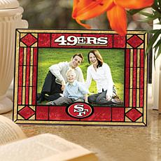 Sports Team Art Glass Horizontal Picture Frame - 49ers