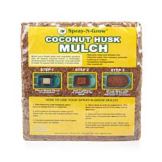 Spray-N-Grow Coconut Husk Mulch Block
