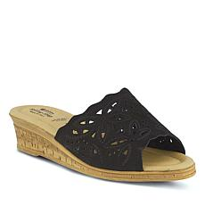 Spring Step Estella Slide Wedge Sandal
