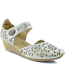 Spring Step Nougat Wedge Sandal