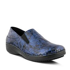 Spring Step Professional Manila-Croco Slip-On Shoes