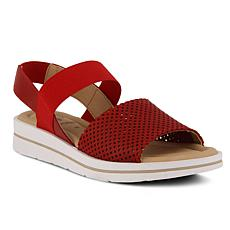Spring Step Travel Leather Sandals