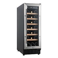 SPT 21-Bottle Wine Cooler with Wooden Shelf