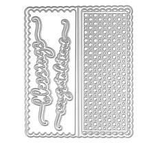 Stamps of Life Scalloped Slimline Card Dies by Stephanie Barnard