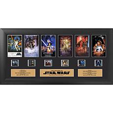Star Wars Through the Ages 6-Film Clip Framed FilmCells™ Presentation