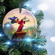 "StarFire Prints™ Disney Glass Ornament - ""Fantasia"""