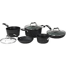"Starfrit ""The Rock"" 8-Piece Cookware Set"