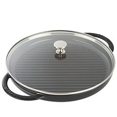 "Staub 12"" Cast-Iron Steam Grill"