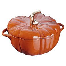 Staub Cast Iron 3.5 qt. Pumpkin Cocotte - Burnt Orange