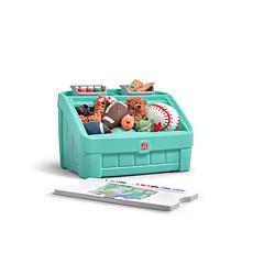 Step2 2-in-1 Toy Box and Art Lid - Mint Green