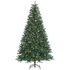 Sterling 8' Clear Lighted Hudson Pine Tree