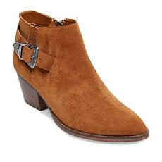 Steve Madden Cassie Leather or Suede Western Bootie