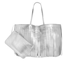 Steve Madden Corrie Large Tote with Detachable Pouch