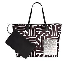 Steve Madden Lindy Logo Tote with Detachable Pouch