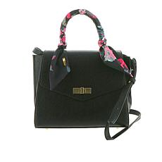 Steve Madden Maeve Satchel with Scarf