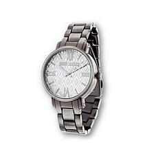 Steve Madden Women's Gunmetaltone Diamond Dial Watch