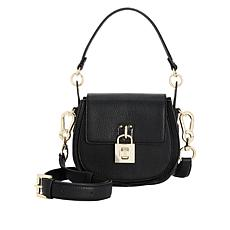 Steven Aubree Saddle Crossbody with Padlock