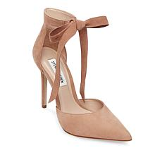 Steven by Steve Madden Leather Heart Tie Pump