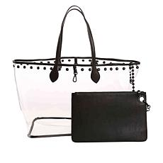 Steven by Steve Madden See-Through Tote