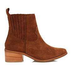 Steven by Steve Madden Walden Leather Bootie