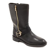 Steven by Steve Madden Zain Studded Leather Boot