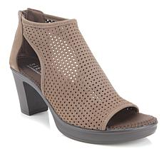 Steven Natural Comfort Edan Perforated Leather Bootie