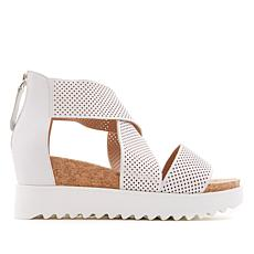 Steven Natural Comfort Kea Leather Platform Sandal
