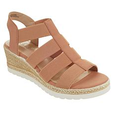 Steven Natural Comfort Real Wedge Platform Sandal