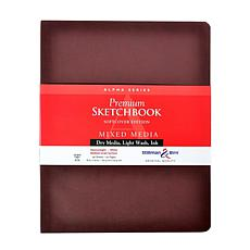 Stillman and Birn Alpha Series Softcvr Sketchbook 8x10 Portrait 96pgs