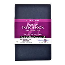 Stillman and Birn Zeta Series Softcvr Sketchbook 5.5x8.5 Portrait 56pg