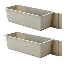 StoreSmith Stick & Slide Cabinet Organizer 2-pk