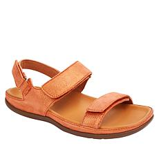 Strive Kona Leather Fully Adjustable Orthotic Sandal
