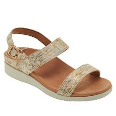 Strive Lucia Leather Slingback Orthotic Sandal