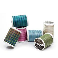 Sulky 30wt Cotton Thread 6-pack - Popular