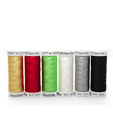 Sulky 40wt Rayon Thread 6-pack - Favorites