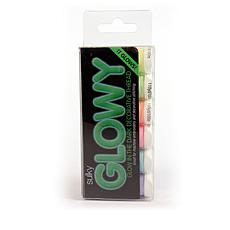 Sulky 40wt Rayon Thread 6-pack -  Glow in the Dark