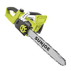 "Sun Joe® 48V iON+ 16"" Cordless Chain Saw Kit"