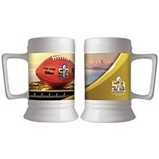Super Bowl 50 Ceramic Collector's Stein - 28 oz.