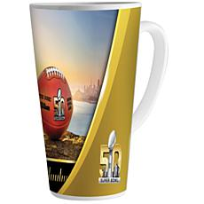 Super Bowl 50 Ceramic Latte Mug - 16 oz.