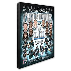 "Super Bowl LII 16"" x 20"" Champions Canvas Photo"