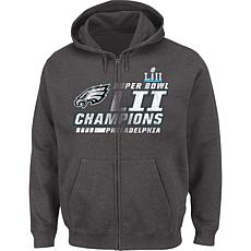 Super Bowl LII Champions Men's Circle Zone Full-Zip Hoodie