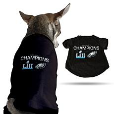 Super Bowl LII Champions Sparo Pet Tee
