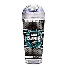 Super Bowl LII Champs 24 oz. Double-Walled Acrylic Tumbler - Eagles