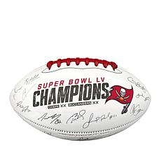 Super Bowl LV Champions Signature Football