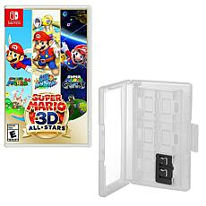 Super Mario All Stars 3D Game for Nintendo Switch with Game Caddy