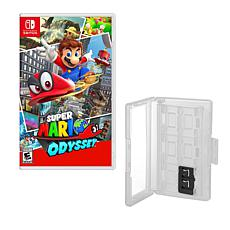 """Super Mario Odyssey"" Game for Nintendo Switch with Game Caddy"