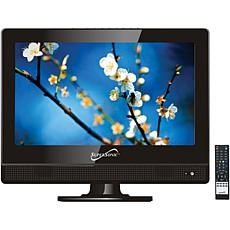 """Supersonic 13.3"""" 720p LED HDTV, AC/DC Compatible with RV/Boat"""